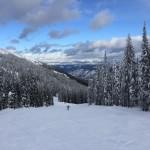 Skiing Feb, 2016 -- Rossland